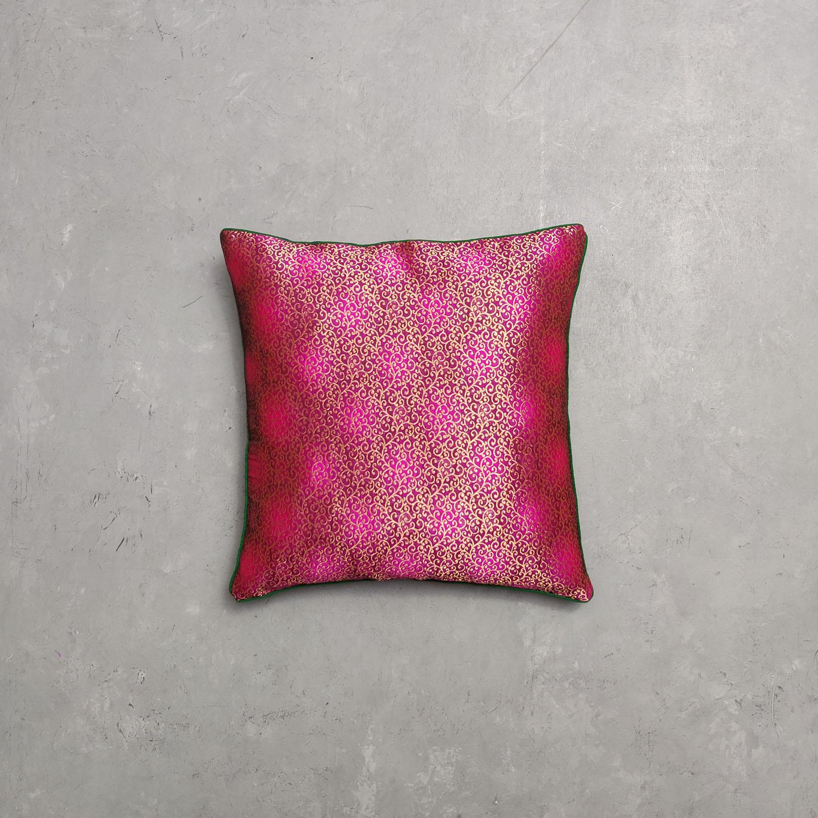 Reversible Brocade Cushion Cover CCB21