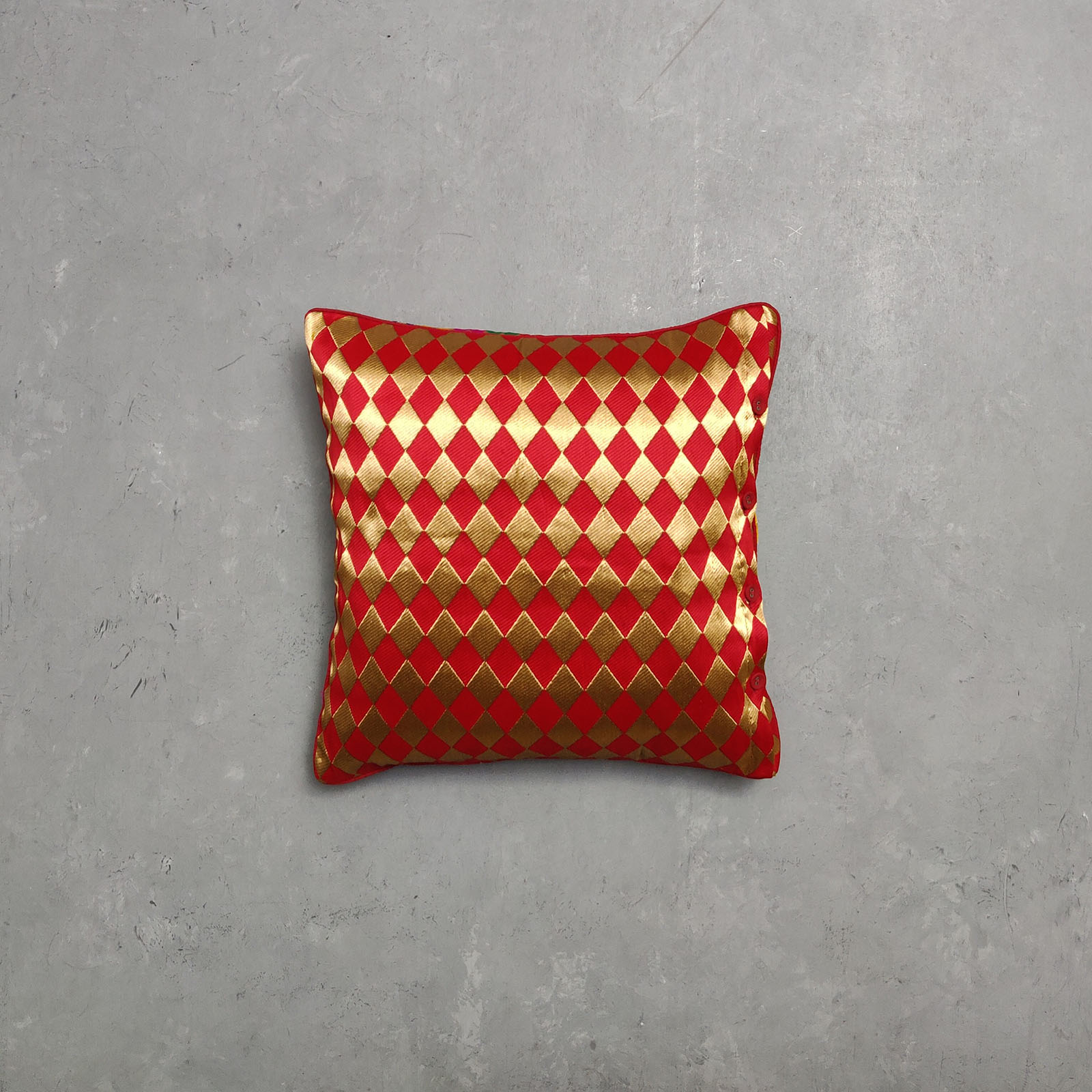 Reversible Brocade Cushion Cover CCB2