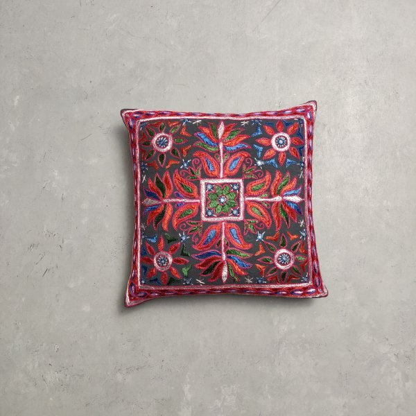 Embroidery Cushion Cover CC4