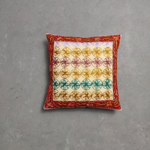 Embroidery Cushion Cover CC6