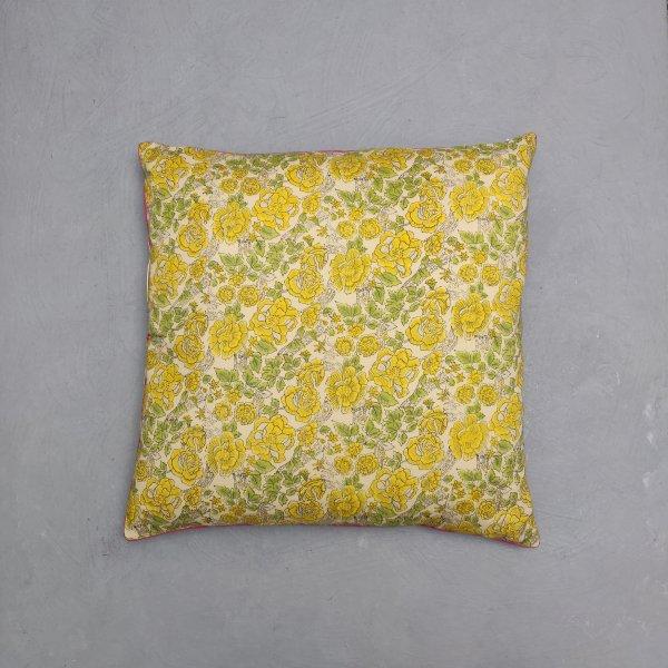 Reversible Handblock Printed Cushion Cover 24CCP115