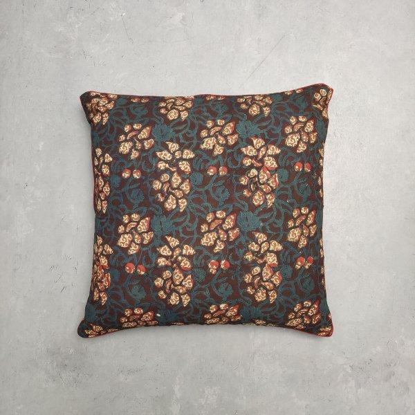 Reversible Handblock Printed Cushion Cover 24CCP11