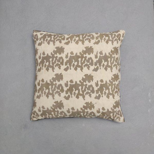 Reversible Handblock Printed Cushion Cover 24CCP121