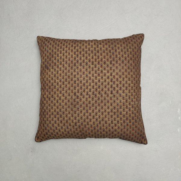 Reversible Handblock Printed Cushion Cover 24CCP131