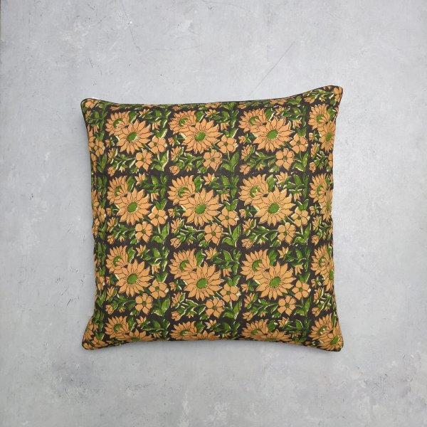 Reversible Handblock Printed Cushion Cover 24CCP13