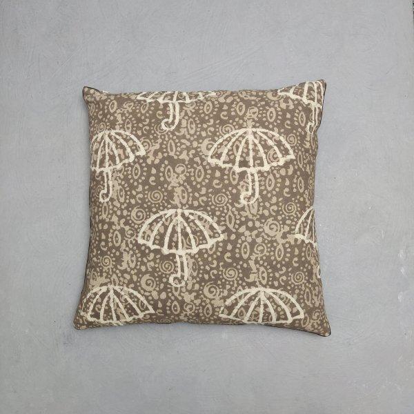 Reversible Handblock Printed Cushion Cover 24CCP140