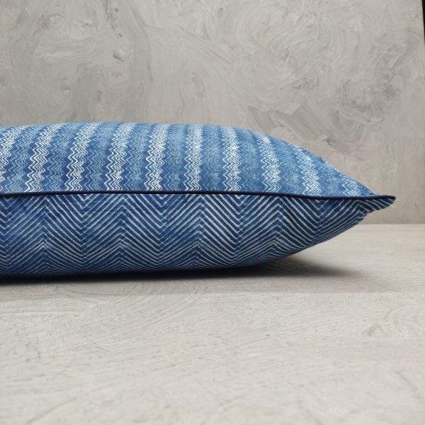 Reversible Handblock Printed Cushion Cover 24CCP143