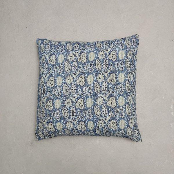 Reversible Handblock Printed Cushion Cover 24CCP149