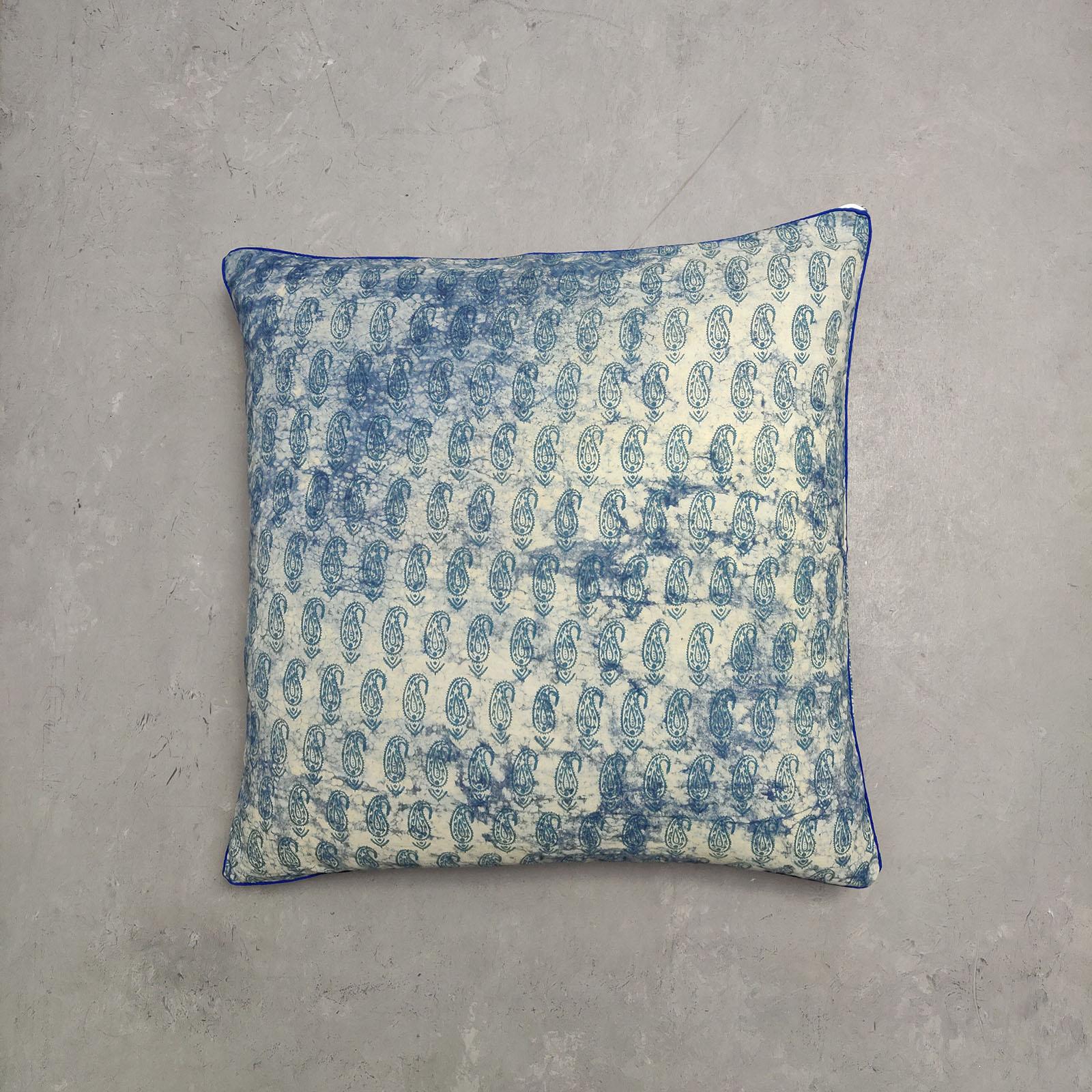 Reversible Handblock Printed Cushion Cover 24CCP14