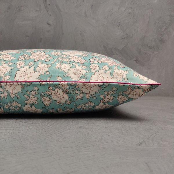 Reversible Handblock Printed Cushion Cover 24CCP155