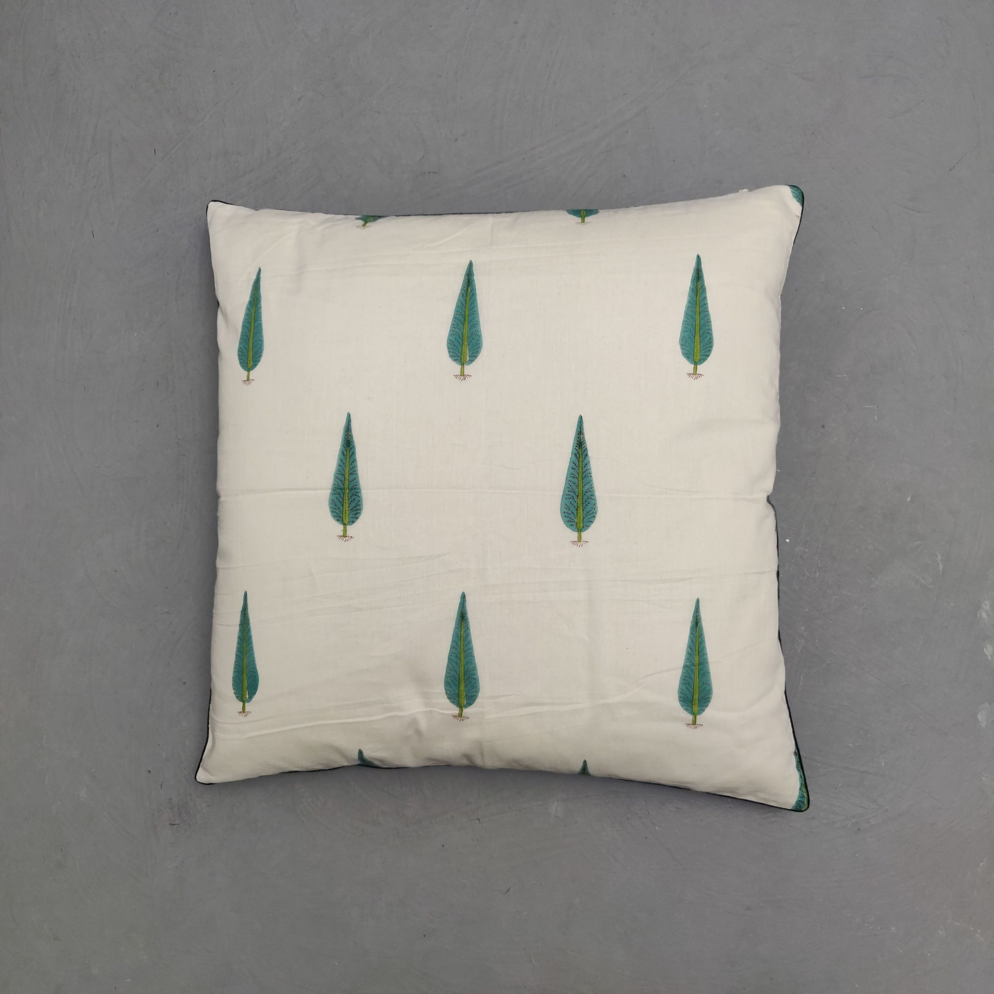 Reversible Handblock Printed Cushion Cover 24CCP157