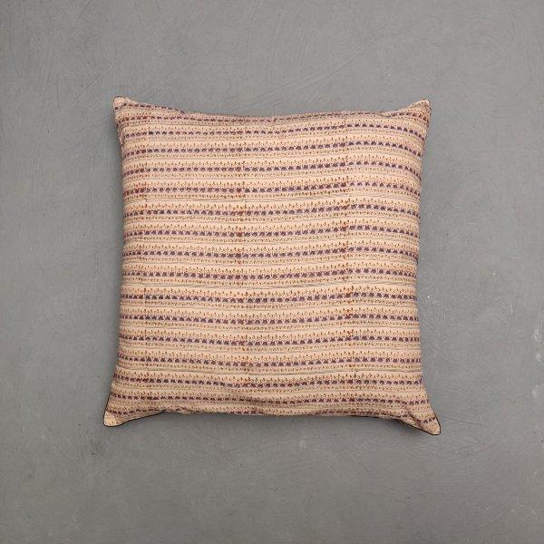 Reversible Handblock Printed Cushion Cover 24CCP166