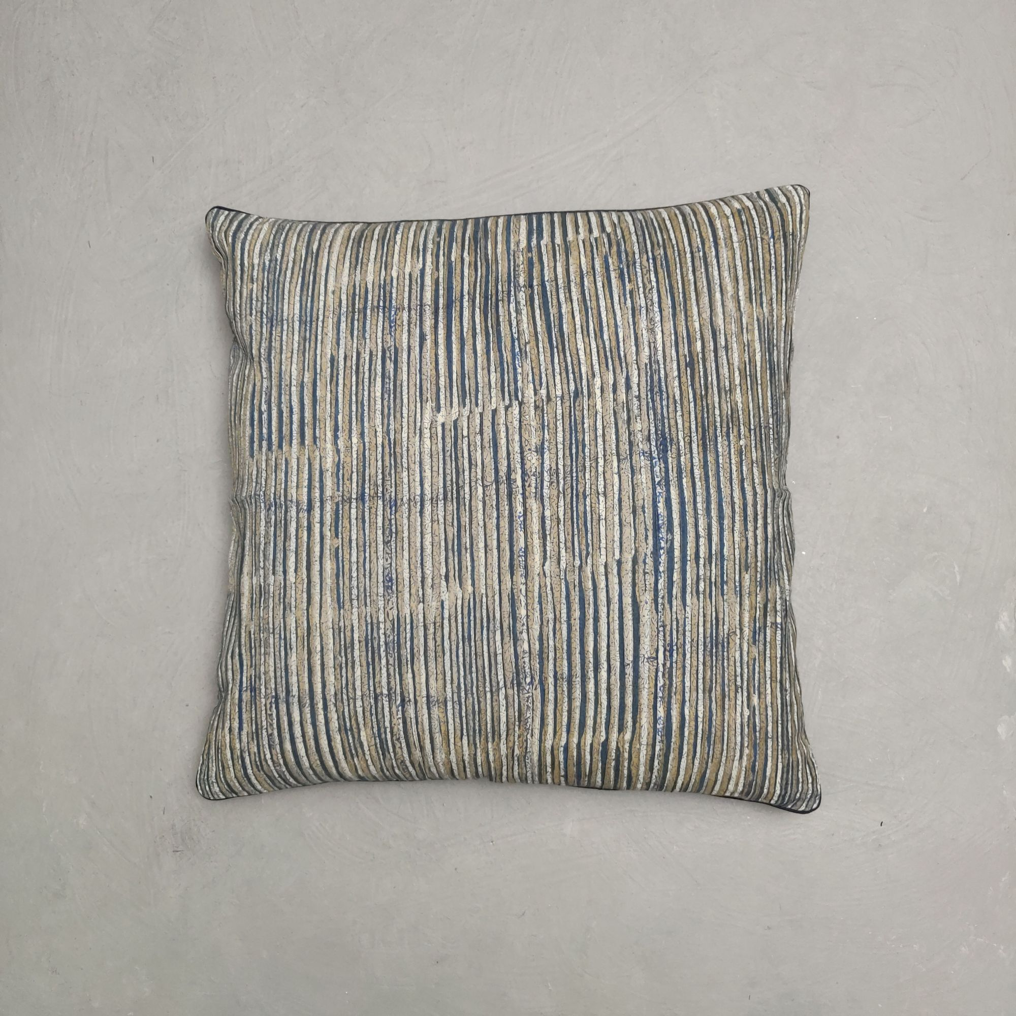 Reversible Handblock Printed Cushion Cover 24CCP170