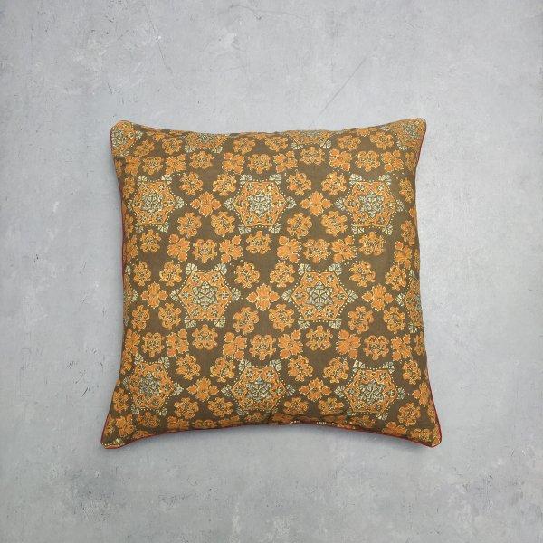 Reversible Handblock Printed Cushion Cover 24CCP20