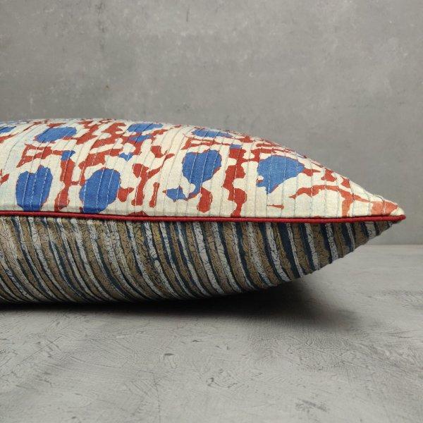 Reversible Handblock Printed Cushion Cover 24CCP28