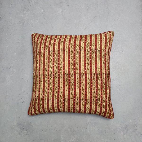 Reversible Handblock Printed Cushion Cover 24CCP29
