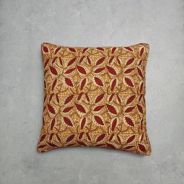 Reversible Handblock Printed Cushion Cover 24CCP30