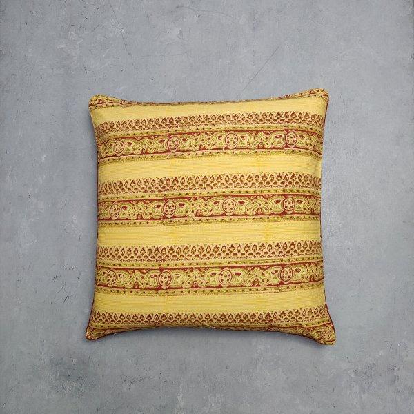 Reversible Handblock Printed Cushion Cover 24CCP31
