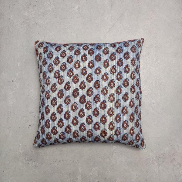 Reversible Handblock Printed Cushion Cover 24CCP33