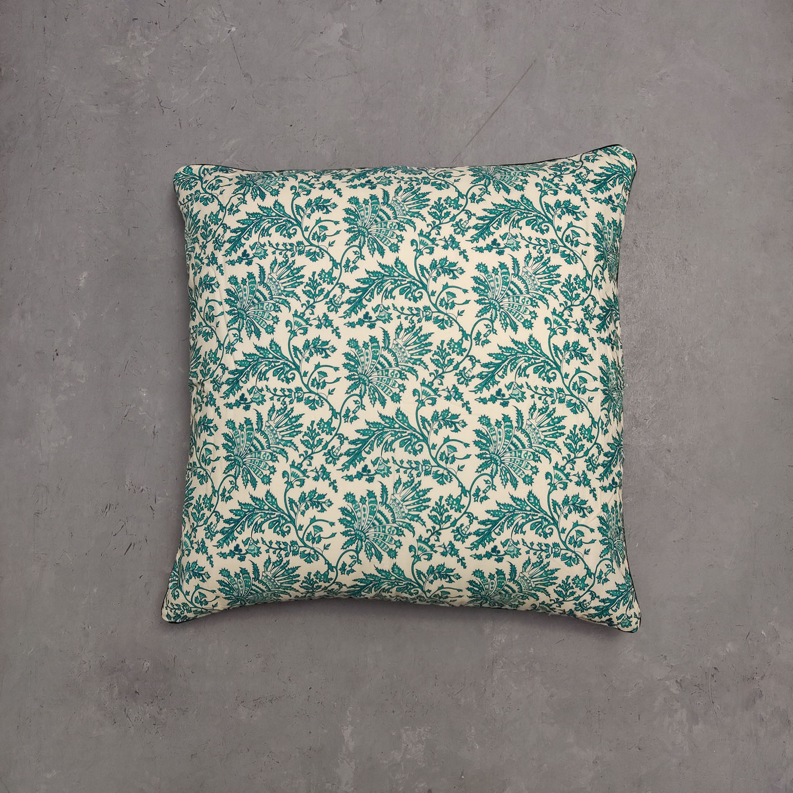 Reversible Handblock Printed Cushion Cover 24CCP34