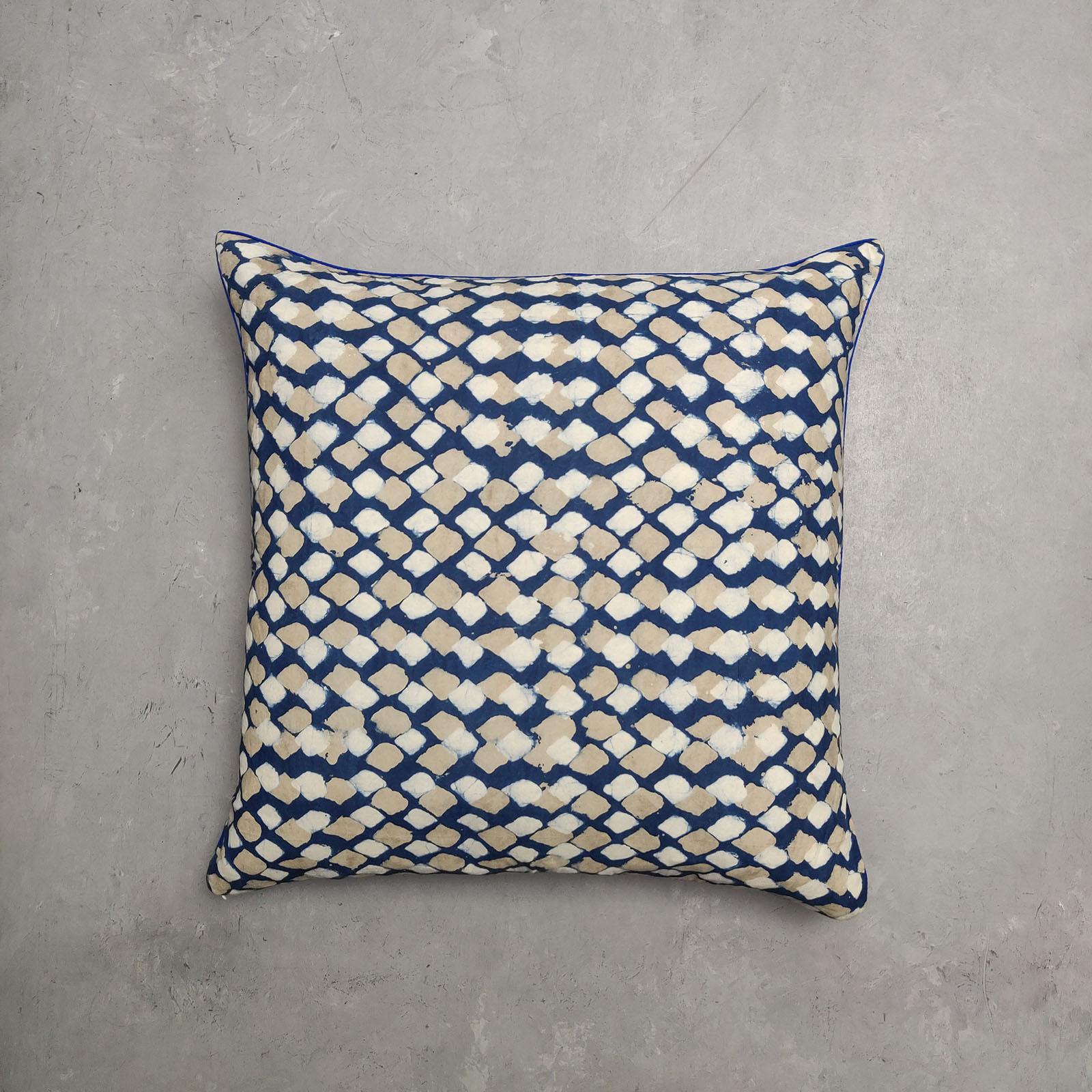 Reversible Handblock Printed Cushion Cover 24CCP3