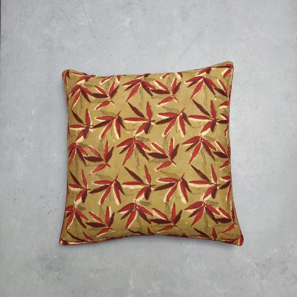 Reversible Handblock Printed Cushion Cover 24CCP42