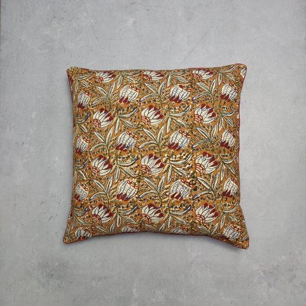 Reversible Handblock Printed Cushion Cover 24CCP45