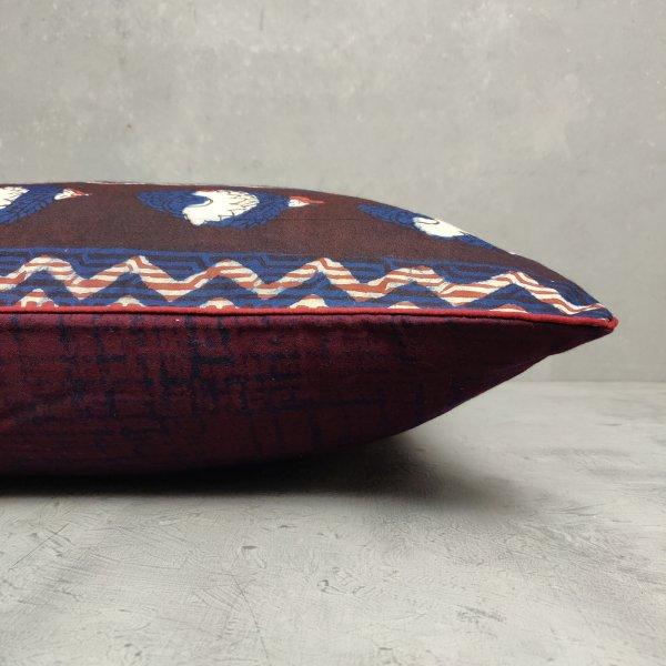 Reversible Handblock Printed Cushion Cover 24CCP49