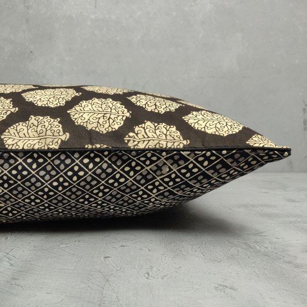 Reversible Handblock Printed Cushion Cover 24CCP51