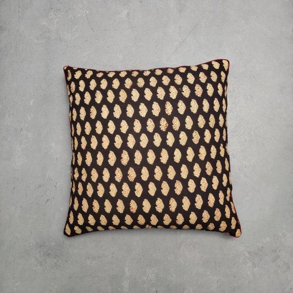 Reversible Handblock Printed Cushion Cover 24CCP56