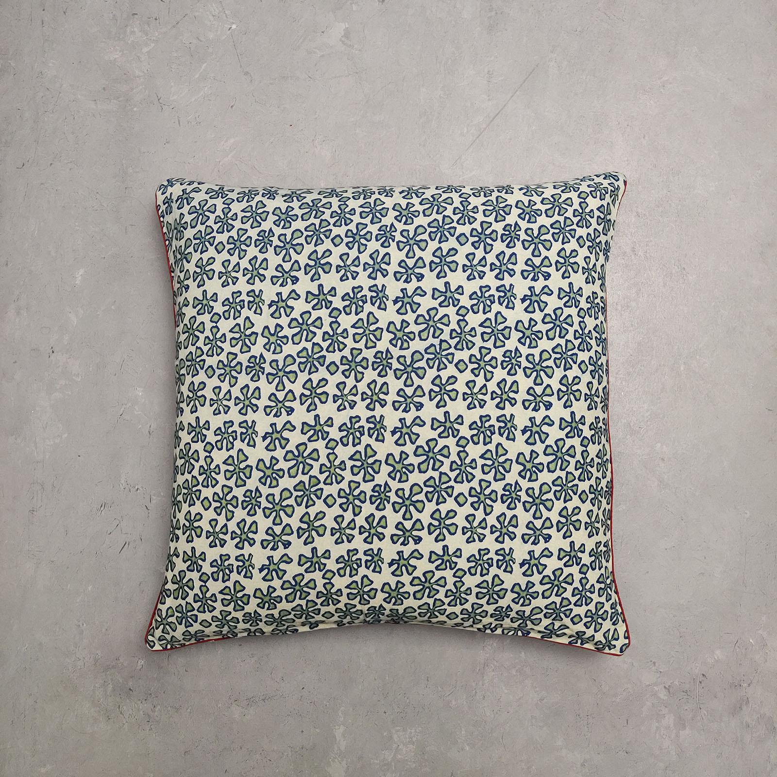 Reversible Handblock Printed Cushion Cover 24CCP5