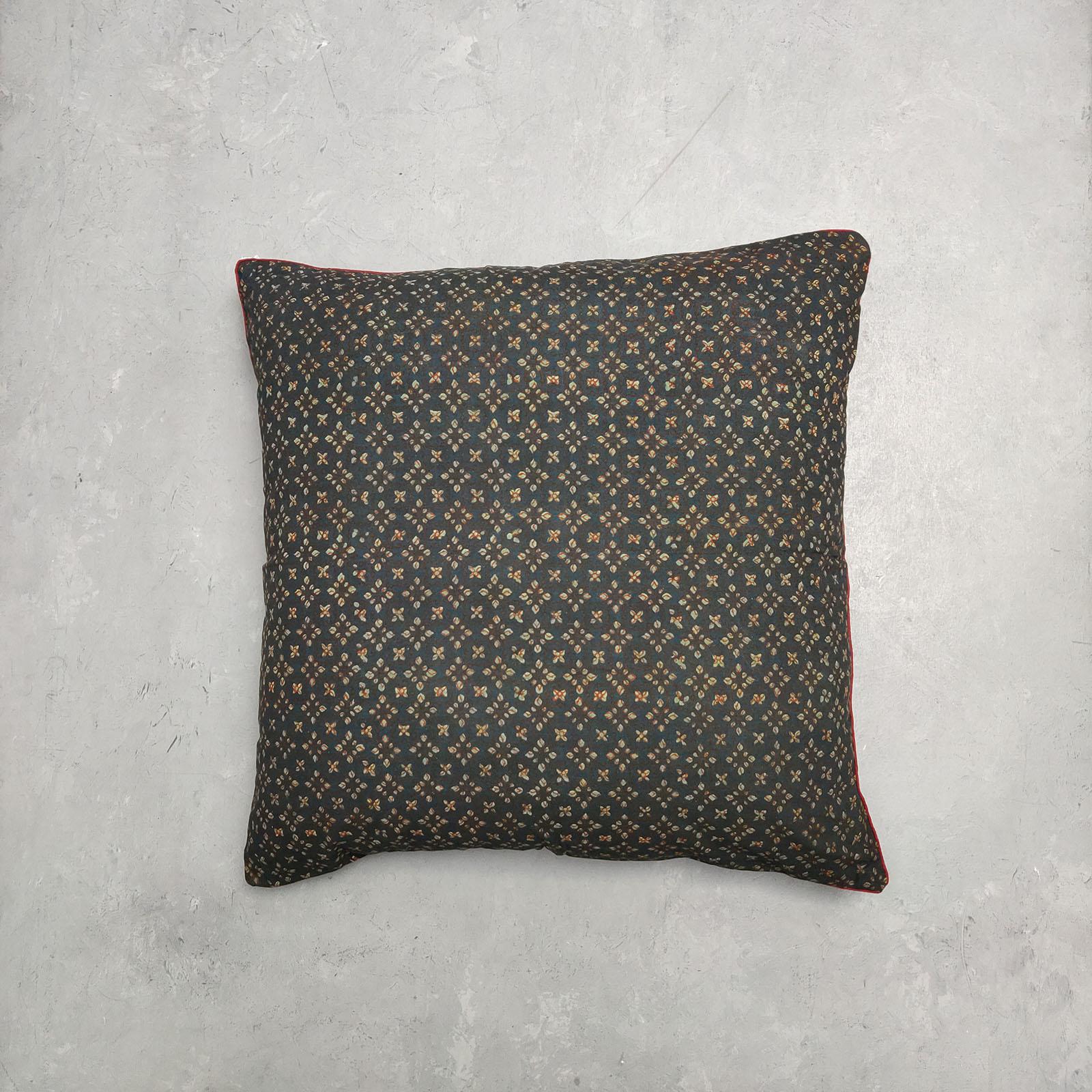 Reversible Handblock Printed Cushion Cover 24CCP61