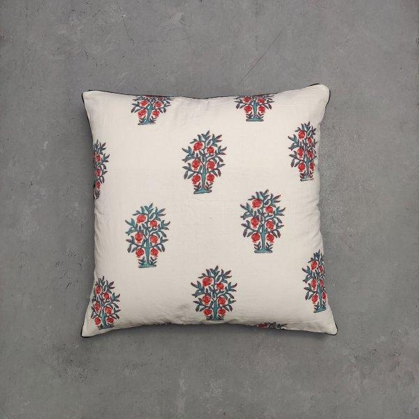 Reversible Handblock Printed Cushion Cover 24CCP65