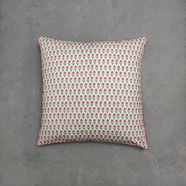 Reversible Handblock Printed Cushion Cover 24CCP70
