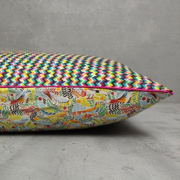 Reversible Handblock Printed Cushion Cover 24CCP71