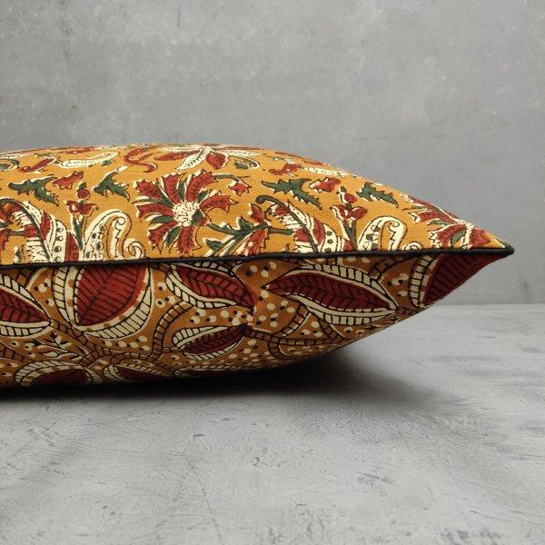 Reversible Handblock Printed Cushion Cover 24CCP72