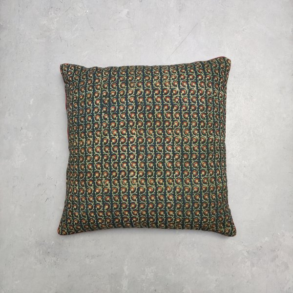 Reversible Handblock Printed Cushion Cover 24CCP81
