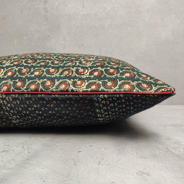 Reversible Handblock Printed Cushion Cover 24CCP85
