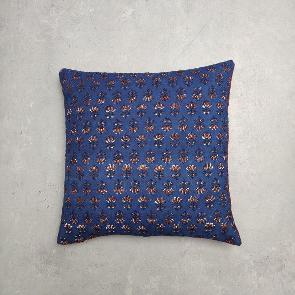 Reversible Handblock Printed Cushion Cover 24CCP8