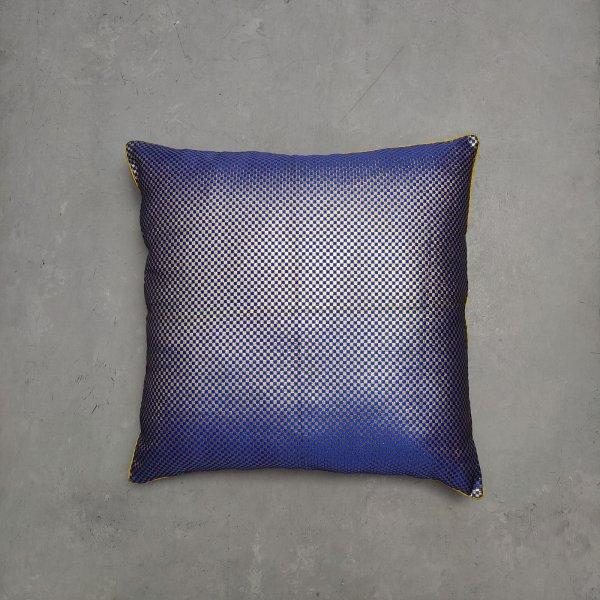 Reversible Handblock Brocade Cushion Cover 24CCP90