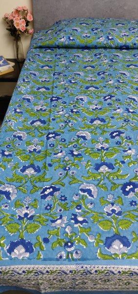 Handblock Single Bedsheet BHS139