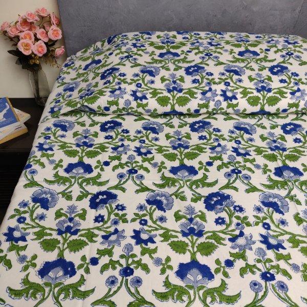 Handblock Single Bedsheet BHS149