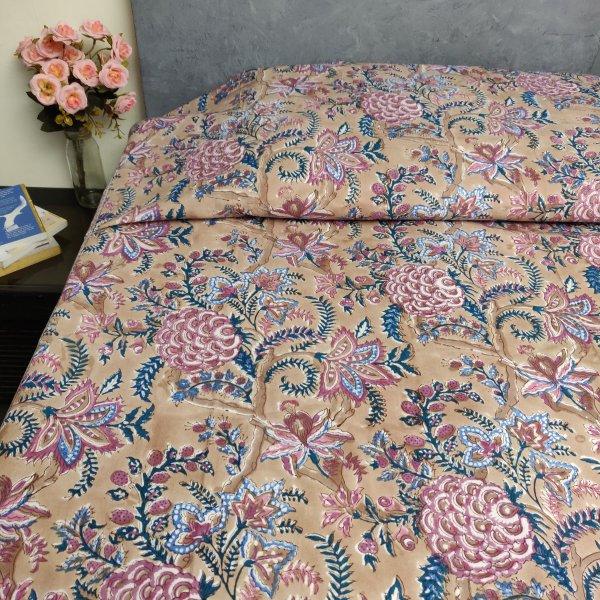 Handblock Single Bedsheet BHS151