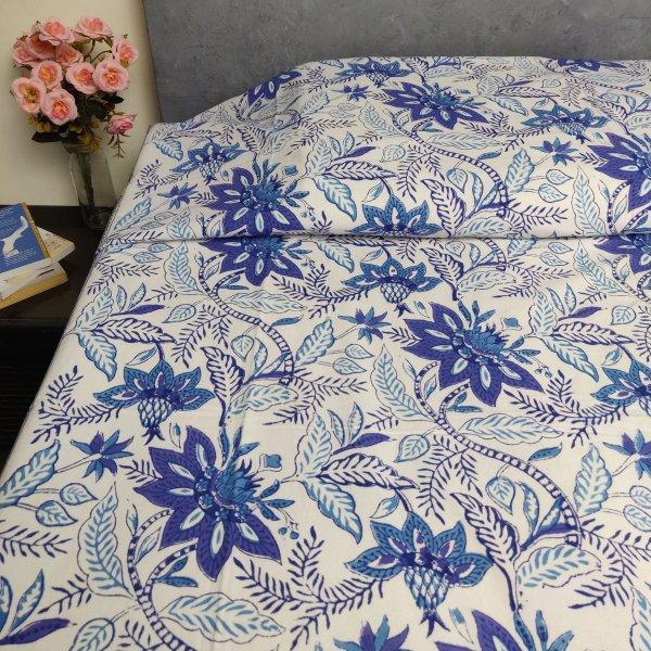 Handblock Single Bedsheet BHS153