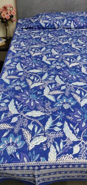 Handblock Single Bedsheet BHS155