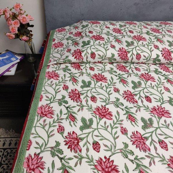 Handblock Single Bedsheet BHS59