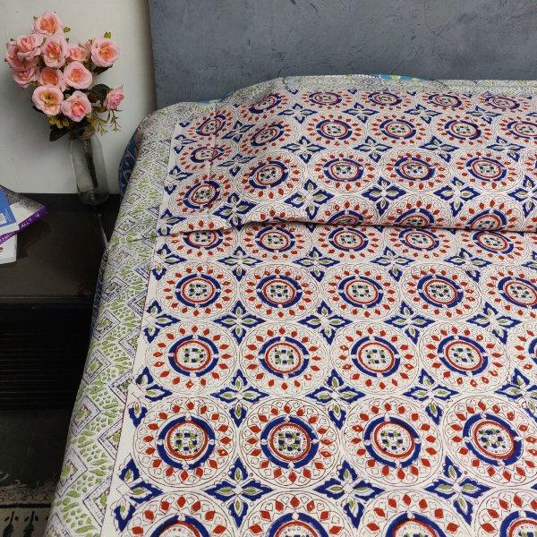 Handblock Single Bedsheet BHS63