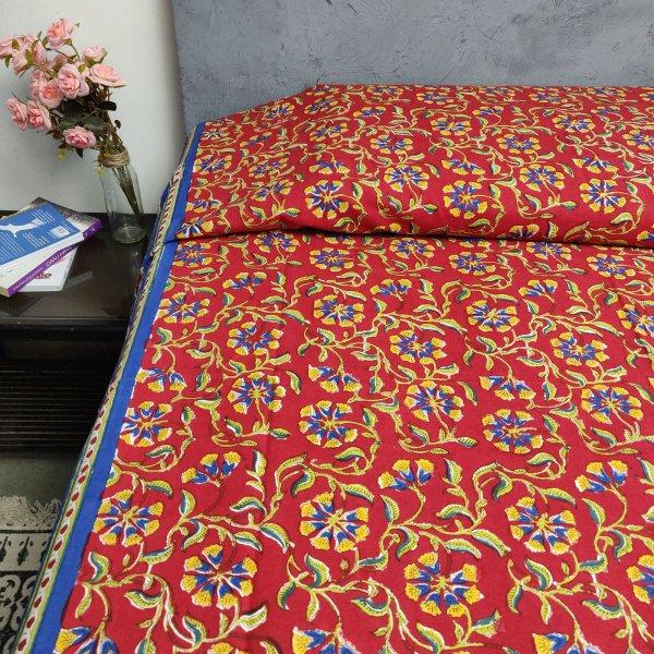 Handblock Single Bedsheet BHS71