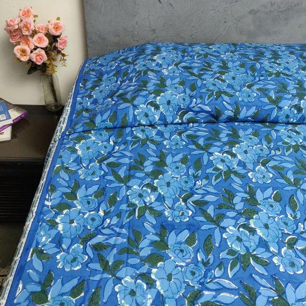 Handblock Single Bedsheet BHS80