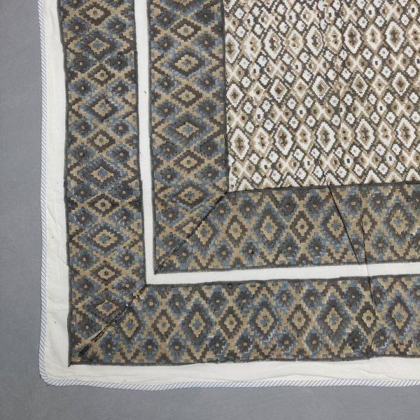 Double Size Dohar Handblock Printed DD74